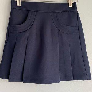 Nautica NWOT girls navy skirt, size 8